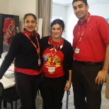 Target Rouse Hill celebrated a team success after the CEO visited our outlet.