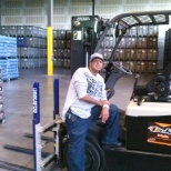 Was a typical day working for a job threw Staffmark at Niagra bottling.