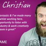GAME photo: Meet our GAME CHANGER CHRISTIAN! #WeAreGAME