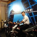 Me at Air Blade launching event