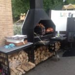 Landal GreenParks photo: De Live cooking braai dag.