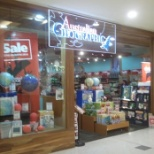This is the front of the Australian Geographic store at Whitfords, where I worked.