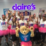 Claire's photo: Birmingham head office taking part in the half marathon to raise money for Make-A-Wish!
