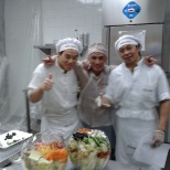 DURING THE SPECIAL ORDER(GREEK SALAD)