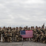 My platoon after taking a objective in the southern part of Afghanistan