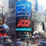 ADP goes live in Times Square