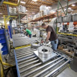 Manufacturing team member at one of our six nationwide manufacturing plants.