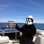 Great Blue Resorts photo: Sally Skunk likes the pontoon boat cruise