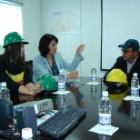 Meeting with State inspectors at Oyu tolgoi place