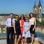 Our ever-expanding Wallace Myers Czech Republic team moved into their new office this week. As you c