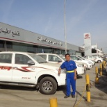 Front area of TOYOTA HASSAN JAMEEL (toyota cars dealer 