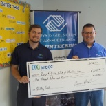 The Boys and Girls Club of Aberdeen was the proud recipient of a grant from the Midco Foundation.