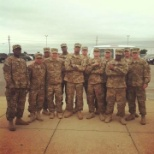 Our sister unit one short This our tem that volunteered to go with to Afghanistan