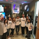 TRANSPLACE photo: Corporate Communications Department dressed as Shark Week for Halloween