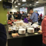 Personify photo: Thanksgiving potluck in the Austin office. We love showing off our cooking skills with coworkers!