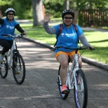 Wawanesa Insurance photo: Wawanesa employees at CMHA's Ride Don't Hide annual community fundraiser bike ride