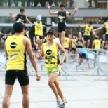 Scootees representing the company in urbanathlon competition