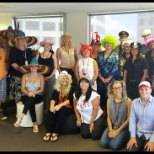 Mad Hatter Day at the Auckland Office.