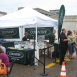 COUNTRY Financial Reps out in force at the Minnepolis Farmers Market.
