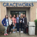 The ASD recruiting team volunteering at Graceworks.
