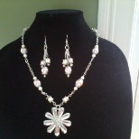 This Necklace & Earring Set is designed by me. Facebook a/c Sangeeta Bakane.