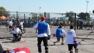 Our DCTR Road Hockey to Conquer Cancer team 2013 at Ontario place