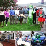 In Virginia Beach, our associates banded together with Habitat for Humanity to gift a new house!