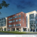 Forest Park Medical Center photo: A rendering of the expected design of Forest Park Austin