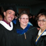 NATIONAL COLLEGE photo: One of the graduations in which I had the honor of participating as a teacher.