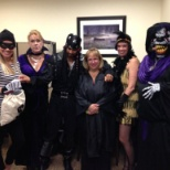 "The Marketing team ""spooks"" it up at our corporate Halloween costume contest."