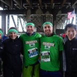 Some LP'ers at the 2016 Shamrock Run 5k