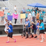 Marketers volunteer at the Special Olympics