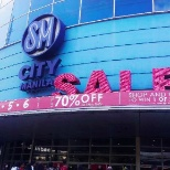 Main Entrance of The SM City Manila