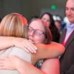 Maxim Healthcare Services photo: Hugs for the Winner