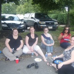 It was a cookout potluck for all employees