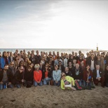 Autodesk photo: Our EMEA Demand Generation team cleaned up the beach to celebrate Global Month of Giving.
