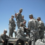 Instructing Soldiers on the .50 Caliber Machine Gun