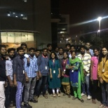 MphasiS photo: New year celebration