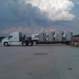 My flatbed with filtration unit #500