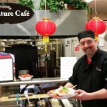 Cafe Services photo: Chinese New Year theme!