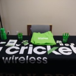 Speaking with tax customers to advise them of At&t's sister company Cricket Wirelezz