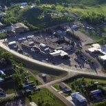 West River Health Services photo: Aerial View of the Facility