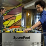 SpareFoot photo: Foosball is a way of life at SpareFoot