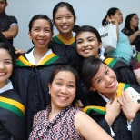 Graduation day of my Daughter - BSN - @ UST - 2nd on my right