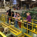 UNC Greensboro design students visit our Old Fort factory