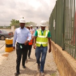 Arrival for safety engagement @idu plant lafarge Africa plc