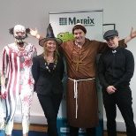 The Matrix Athlone team at Halloween!