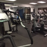 Come and work out in the complimentary onsite fitness centre