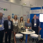Kainos photo: The Digital Services team on stand at Digital Leaders conference, London