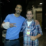 Phoenix Suns photo: Me and Gerald Green